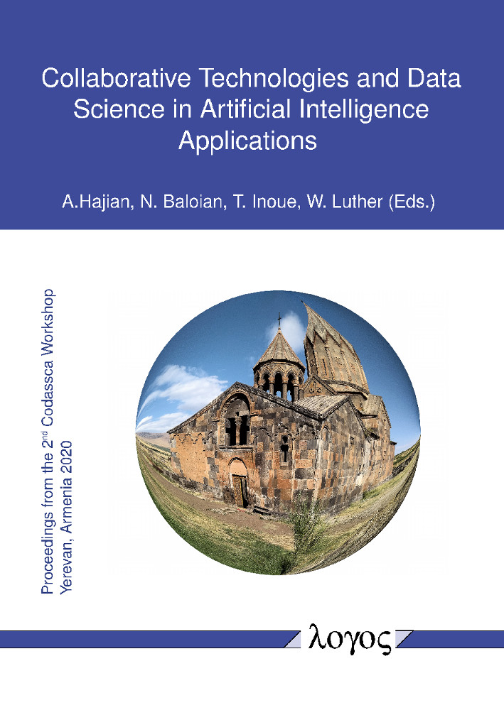 Aram Hajian, Nelson Baloian, Tomoo Inoue, Wolfram Luther (Hrsg.): Collaborative Technologies and Data Science in Artificial Intelligence Applications